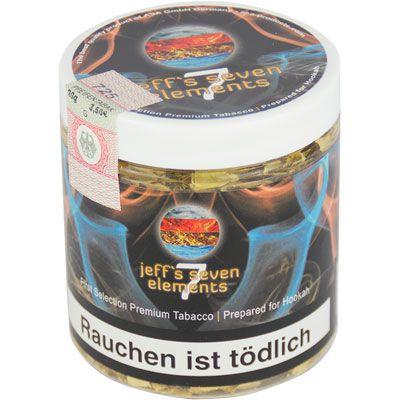 Jeffs 7 Elements Extra Dry Shisha Tabak 20g Dose