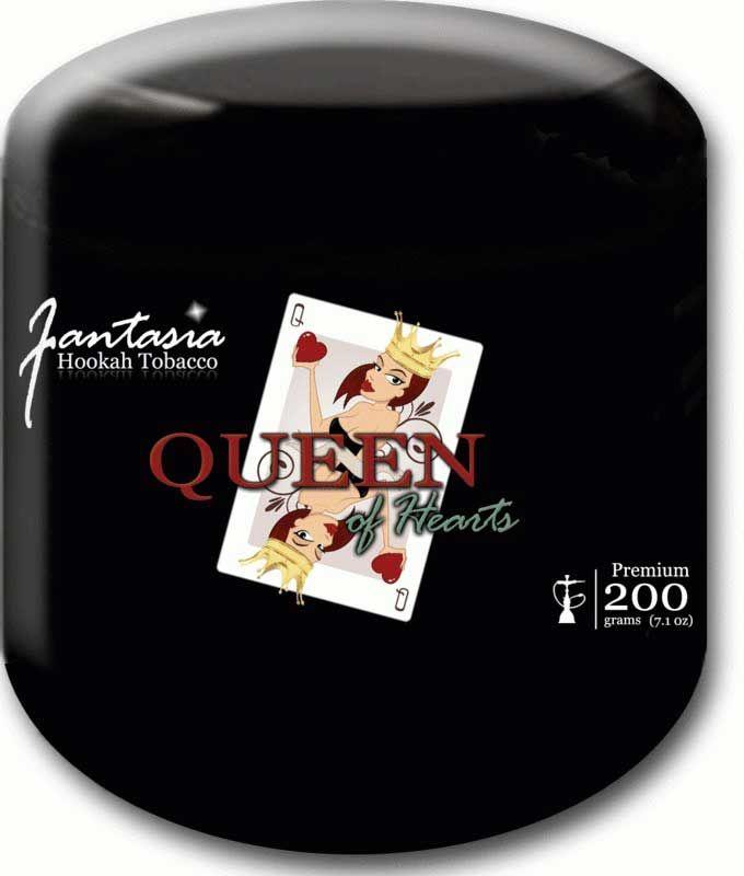 Shisha Tabak Queen of Hearts (200g Dose)