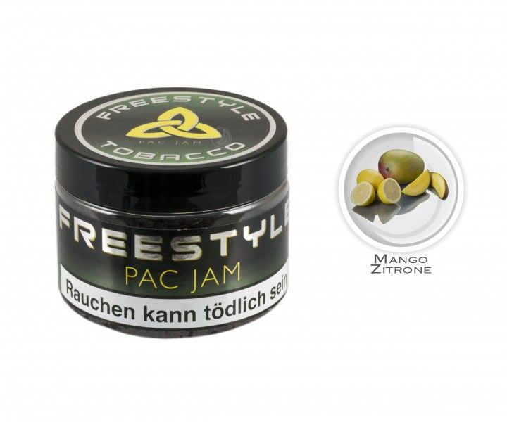Freestyle Tobacco Pac Jam (150g Dose)
