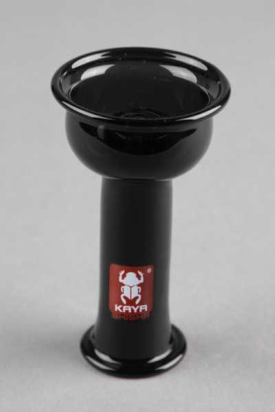 Glaskopf Kaya Disc Vortex - schwarz