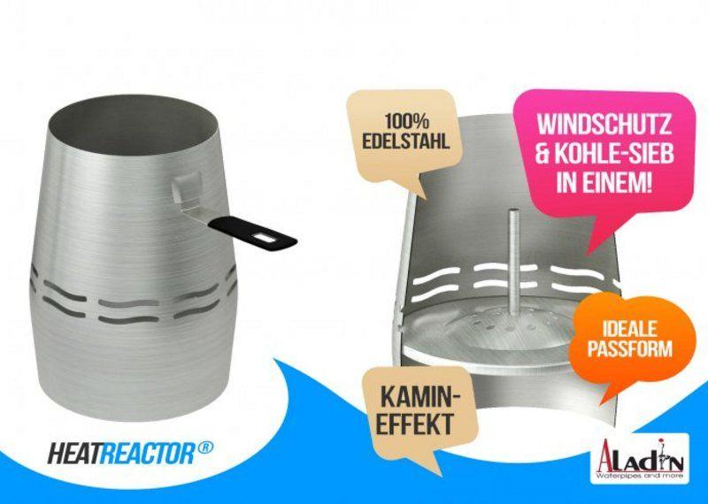 HeatReactor - Edelstahl Kaminaufsatz