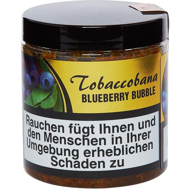 Tobaccobana - Blueberry Bubble - 150g Dose
