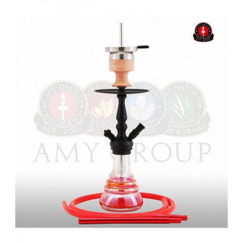 AMY DELUXE Shisha Little Zuri R Rot RS Schwarz